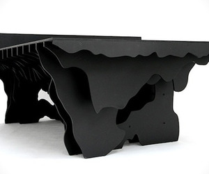Topographic Pool Table by Snarkitecture