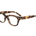 Tortoise Shell Eyeglasses by Tom Ford