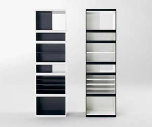 Totem: Cabinet System with Shelves