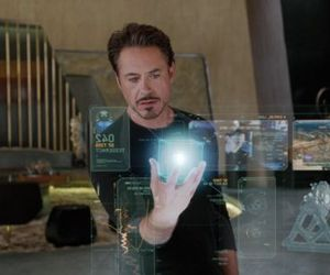 Touch Screen Activates Without Touching -Tony Stark Way