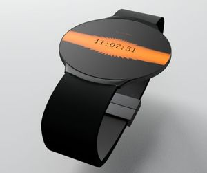 Touch Skin Watch with a Customizable Skin