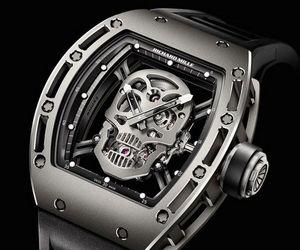 Tourbillon RM 052 Skull Watch by Richard Mille