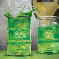 Toxic Drinking Glass by Fred & Friends
