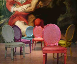 Transformed Louis XVI Chairs by Omforme