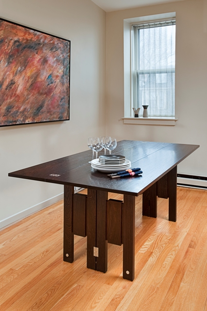 Console table dining room