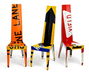 Transit Chairs by Boris Bally