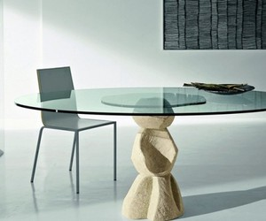 Transparant Dining Table By Diotti A&F
