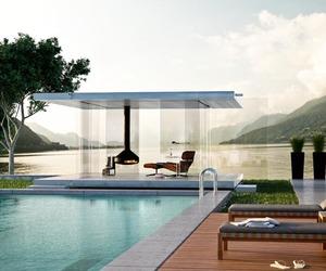 Transparent Garden Pavilion