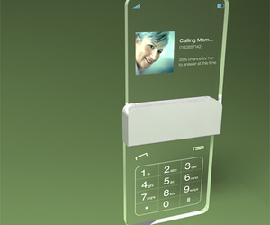Transparent Phone by Mac Funamizo.