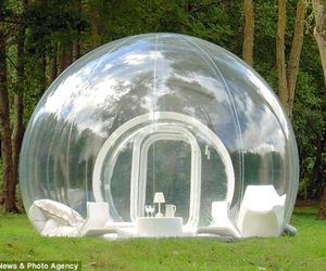 Transparent Tent Cabin