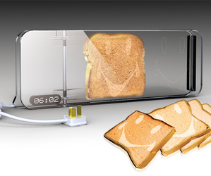 Transparent Toaster Concept