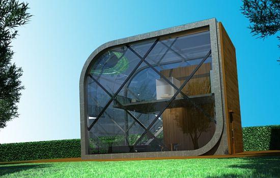 Transsolar Futuristic Solar Powered Home