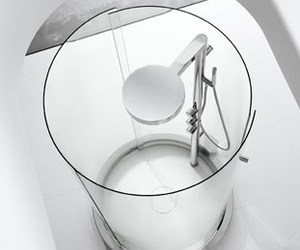 Transtube, a new cylindrical shower from Roca