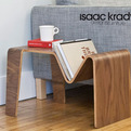 Tre table by Isaac Krady
