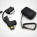 Treble Keychain Data Sync, Sim Ejector & SD Card Reader