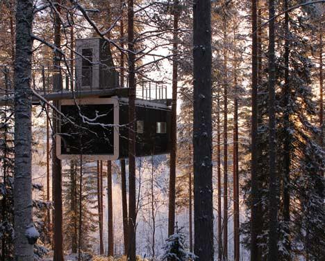 Tree Hotel In Harads Sweden