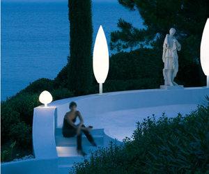 Tree Outdoor Floor Lamp