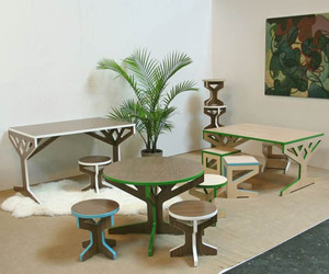 Tree Table Collection by April Hannah