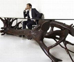 Tree Table Design Idea by Sebastian Errazuriz