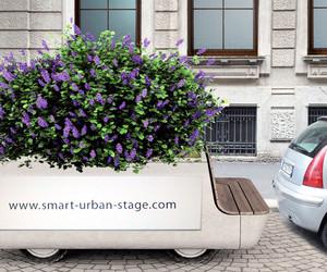Tree Trolley - Mobile Garden Bench | Matteo Cibic