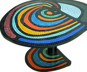 Trend mosaic tables@ FuoriSalone