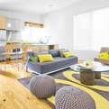 Trendy Color Combinations: Yellow and Gray