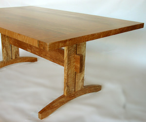 Trestle Dining Table - Beautiful and Sustainable