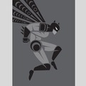 Tribal Superheroes by Jeffrey Veregge