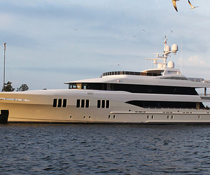 Trinity Yachts' First 2011 Delivery