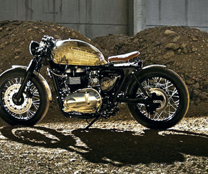 Triumph Thruxton 'Queen Elizabeth Coronation' Motorcycle