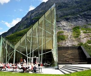 Troll Wall Restaurant by Reiulf Ramstad Arkitekter