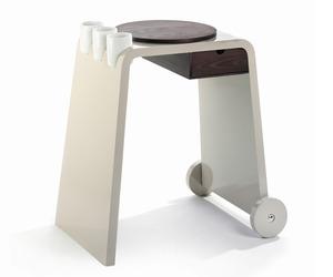 Troller Kitchen Cart by Legnoart