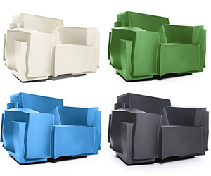 TRON Armchair, now mass-produced for Cappellini