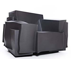 Tron Chair : Unique Armchair by Dror