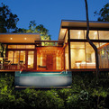 Tropical rainforest retreat on Bedarra Island