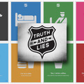 Truth & Lies, A Poster Series by Justin Barber