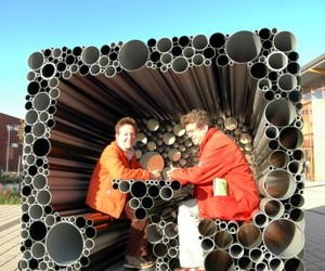Tubular Project from Hoogte Twee Architecten