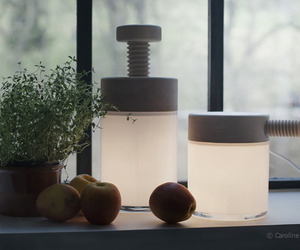 Turn lamp by Caroline Olsson