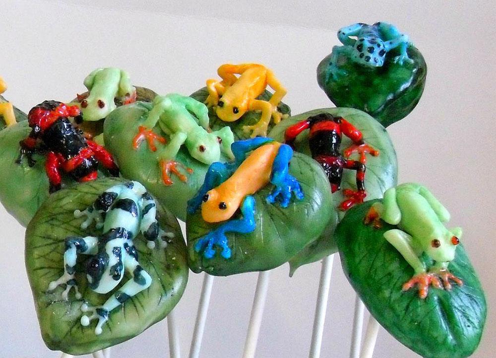 Cake Pops Into Edible Sculptural Art by Sarah Downham