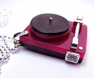 Turntable pendant