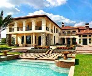 Tuscany Style Home Estate By Award Winning Architect