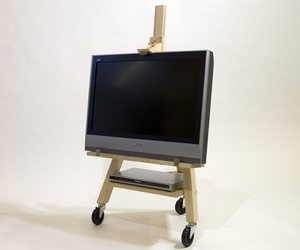 TV Easel by Axel Bjurstrom