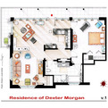 TV Show Floor Plans | Iñaki Aliste Lizarralde