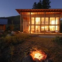 Twisp Cabin by Johnston Architects
