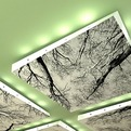 Twisted Realty Floating Ceiling Panels