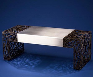 Two-Faced Coffee Table by Dan McCabe