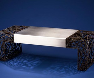 Two Faced Coffee Table by Dan McCabe