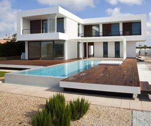 Two Level Minimalist Home
