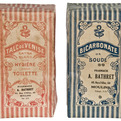 Two Vintage 1920 French Art Nouveau Pharmacy Cartons