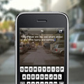 Type n Walk Text Message App for Apple iPhone